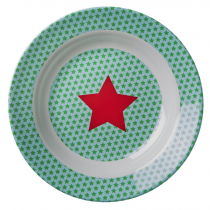 Rice - Kids Melamine Bowl - Star Print