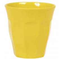 Rice - Kids Melamine Cup - Solid Yellow