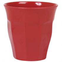 Rice - Kids Melamine Cup - Solid Red
