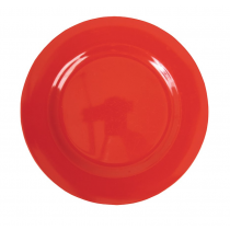 Rice - Kids Melamine Plate - Solid Red