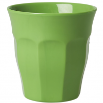 Rice - Kids Melamine Cup - Solid Green