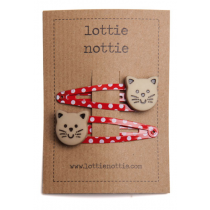 lottie nottie - Toadstool on Yellow Clips