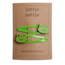 lottie nottie - FROG - Hair Clips