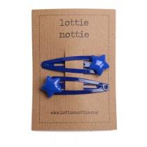 lottie nottie - STAR - Pink Hair Clips