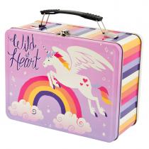 Hatley - Tin Lunch Box - Unicorn