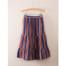 BOBO CHOSES - Long Skirt - Awning Stripes