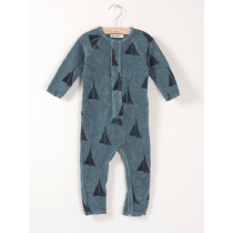BOBO CHOSES - Fleece Jumpsuit - Alma