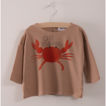 BOBO CHOSES - Baby Tee Shirt - Crab Your Hands
