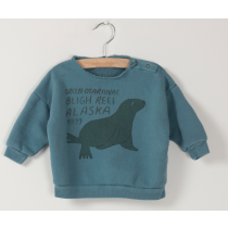 BOBO CHOSES - Baby Sweatshirt - Green Otariinae