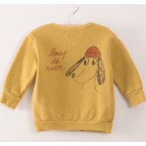 BOBO CHOSES - Baby Zip Sweatshirt - Loup de Mer