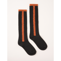 BOBO CHOSES - Stripe Long Socks - Dark Slate
