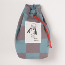 BOBO CHOSES Check Duffle Bag - Loup de Mer