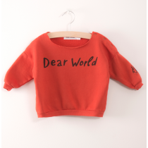 BOBO CHOSES - Baby Sweatshirt - Dear World