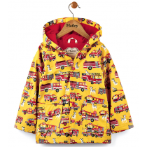 Boys Hatley Raincoat - Fire Trucks
