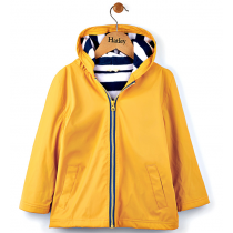 Boys Hatley Raincoat - Yellow Splash Jacket
