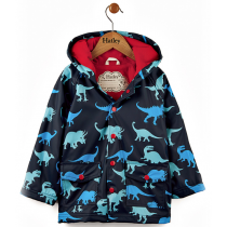 Boys Hatley Raincoat - Dino Shadows