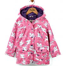 Girls Hatley Raincoat - Winged Unicorns