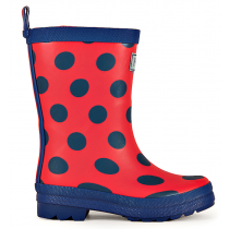 Hatley Wellies - Blue Dots