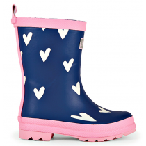 Hatley Wellies - Sprinkled Hearts