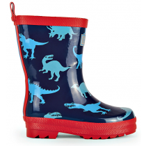 Hatley Wellies - Dino Shadows