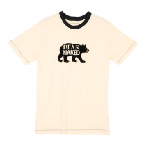 Mens PJ Tee - HATLEY - Bear Naked