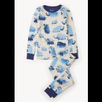 Boys Hatley Pyjamas - Wooly Mammoths