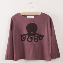 BOBO CHOSES - Organic Cotton T Shirt - Octopus