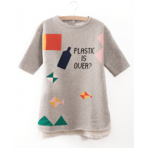 BOBO CHOSES - Pocket Dress - Plastic is Over