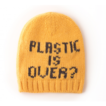 BOBO CHOSES - Gold Knitted Beanie - Plastic is Over