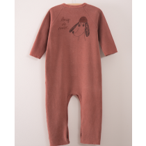 BOBO CHOSES - Fleece Jumpsuit - Loup de Mer