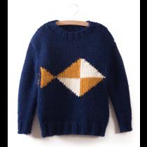 BOBO CHOSES - Knitted Jumper - 3 Fish