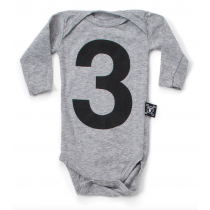 nununu - NUMBER ONESIE - heather grey
