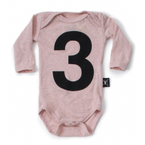 nununu - NUMBER ONESIE - powder pink