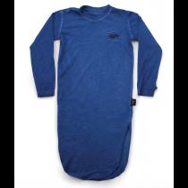nununu - MAXI T DRESS - Dirty Blue