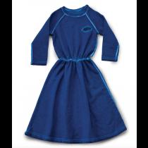 nununu - FRENCH TERRY MAXI DRESS - Dirty Blue