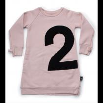 nununu - NUMBERED A DRESS - Powder Pink