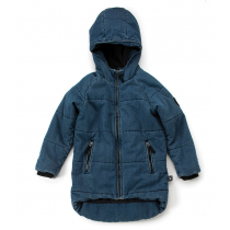 nununu - DENIM DOWN COAT - denim blue