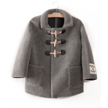 BOBO CHOSES - Wool Jacket with Patch