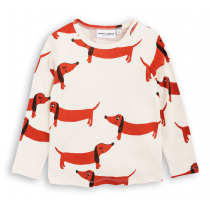 mini rodini - ORGANIC COTTON TEE SHIRT - Dog