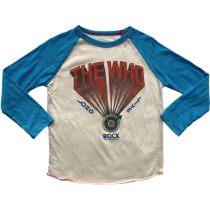ROWDY SPROUT - The WHO - Raglan Tee