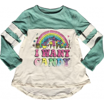 ROWDY SPROUT - I Want Candy - Dreamer Tee