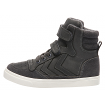 Hummel Trainers - Stadil Oiled High Top - Ashphalt