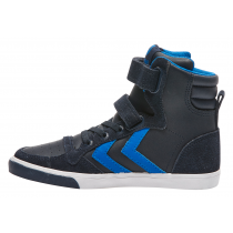 Hummel Trainers - Slimmer Stadil High Tops - Skydiver
