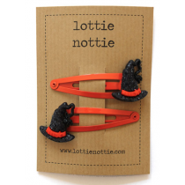 lottie nottie - Witches Hat - Hair Clips