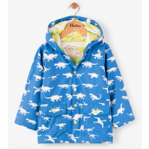 Boys Hatley Raincoat - Colour Changing Dino