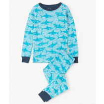 Boys Hatley Pyjamas - Shark Alley
