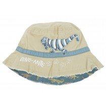 Hatley Sun Hat - Blue Dino