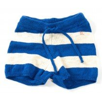 BOBO CHOSES - Knitted Shorts - Blue Stripe