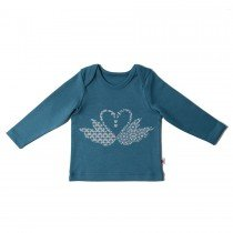 Redurchin - Swan - Baby Long Sleeve Tee