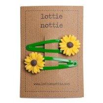 lottie nottie - Sunflower on Green Clips